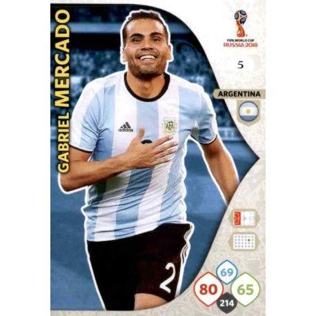 Gabriel Mercado Argentina 5
