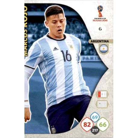 Marcos Rojo Argentina 6 Adrenalyn XL World Cup 2018