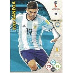 Éver Banega Argentina 10