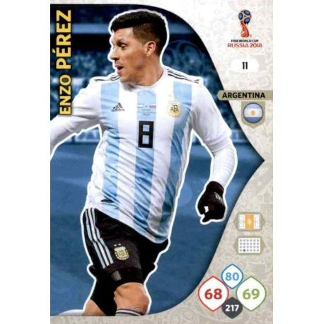Enzo Pérez Argentina 11