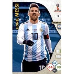 Lionel Messi Argentina 13 Adrenalyn XL World Cup 2018