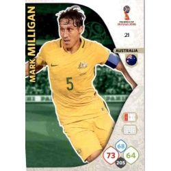 Mark Milligan Australia 21 Adrenalyn XL Russia 2018