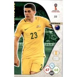 Tom Rogic Australia 22 Adrenalyn XL Russia 2018