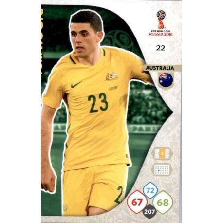 Tom Rogic Australia 22Adrenalyn XL Russia 2018