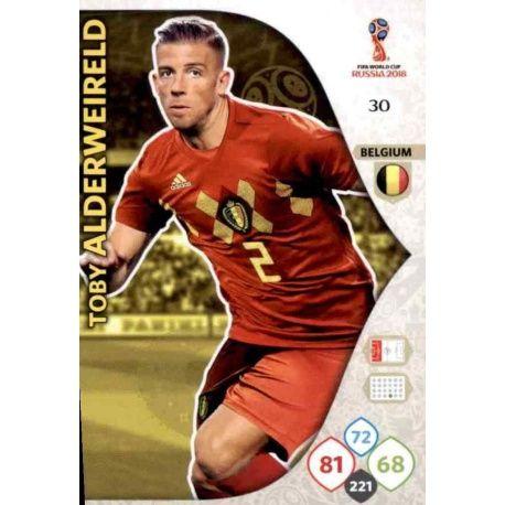 Toby Alderweireld Bélgica 30 Adrenalyn XL Russia 2018