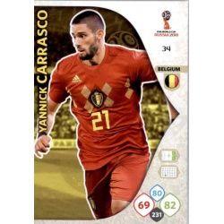 Yannick Carrasco Bélgica 34