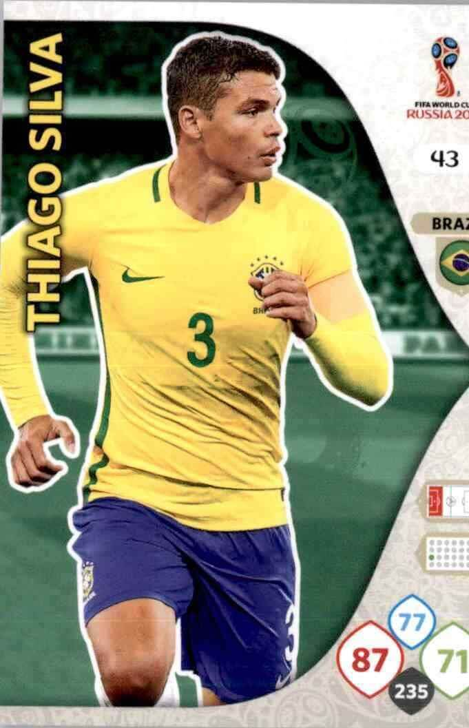 PANINI 46 Willian BRASIL FIFA WORLD CUP 2014 Brasile