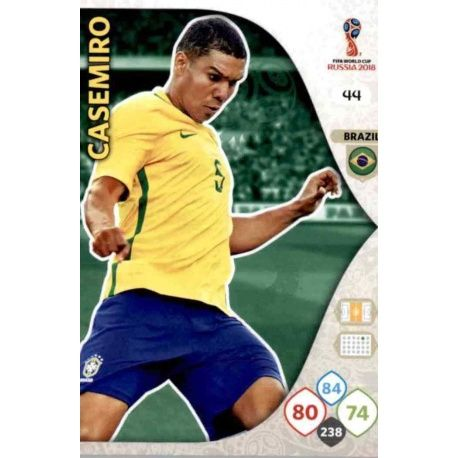 Casemiro Brasil 44 Adrenalyn XL World Cup 2018