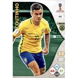 Philippe Coutinho Brasil 48 Adrenalyn XL Russia 2018