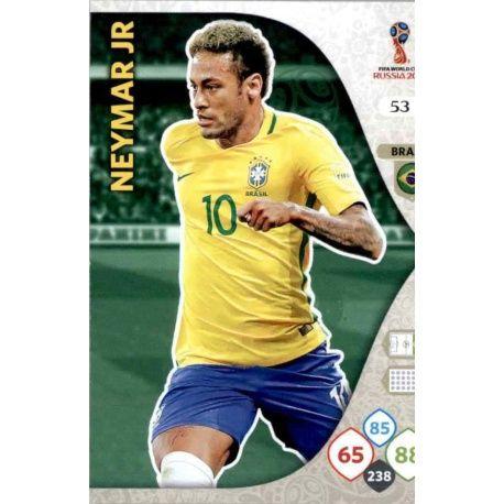 Neymar Jr Brasil 53 Adrenalyn XL Russia 2018