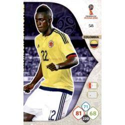 Davinson Sánchez Colombia 58