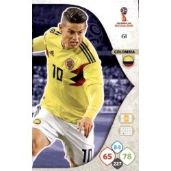 James Rodríguez Colombia 61