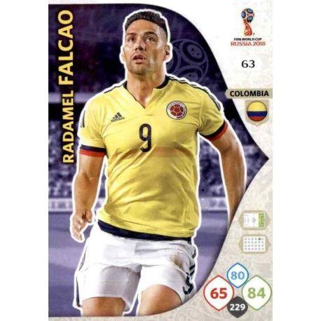 Radamel Falcao Colombia 63 Adrenalyn XL World Cup 2018