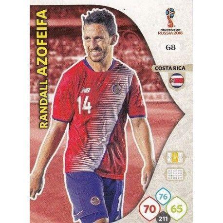 Randall Azofeifa Costa Rica 68 Adrenalyn XL World Cup 2018