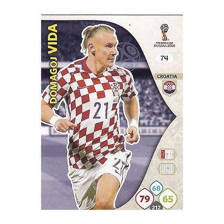 Domagoj Vida Croacia 74 Adrenalyn XL World Cup 2018