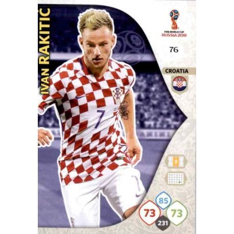 Ivan Rakitić Croacia 76 Adrenalyn XL World Cup 2018