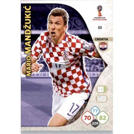 Mario Mandzukić Croacia 81