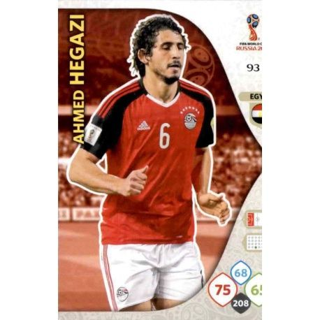 Ahmed Hegazi Egipto 93 Adrenalyn XL World Cup 2018