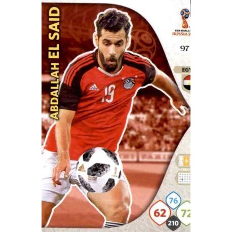 Abdallah El Said Egipto 97 Adrenalyn XL Russia 2018