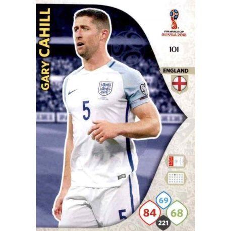 Gary Cahill Inglaterra 101 Adrenalyn XL Russia 2018