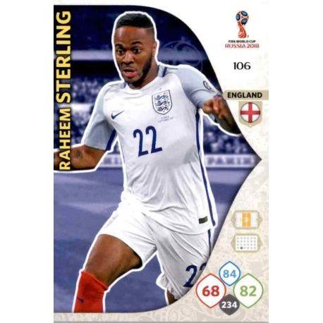 Raheem Sterling Inglaterra 106