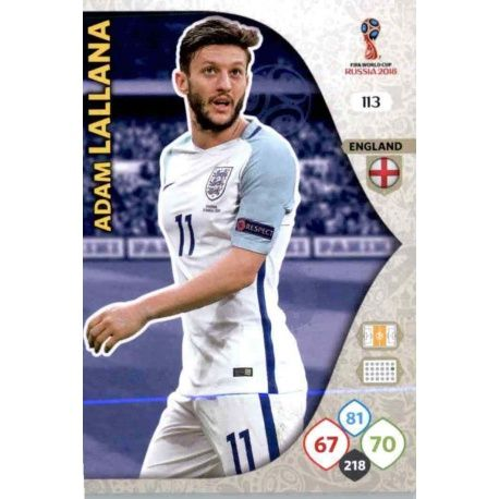 Adam Lallana Inglaterra 113