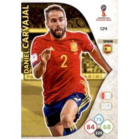 Daniel Carvajal España 124