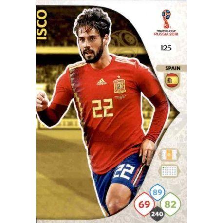 Thiago Silva España 126 Adrenalyn XL Russia 2018