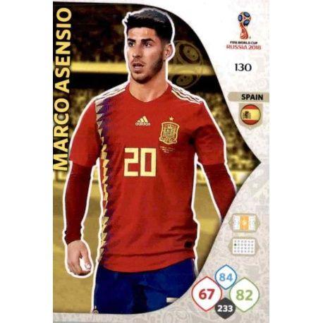 Marco Asensio España 130 Adrenalyn XL World Cup 2018