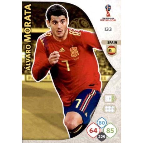 Álvaro Morata España 133 Adrenalyn XL World Cup 2018