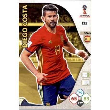 Diego Costa España 135 Adrenalyn XL World Cup 2018