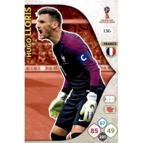 Hugo Lloris Francia 136 Adrenalyn XL World Cup 2018
