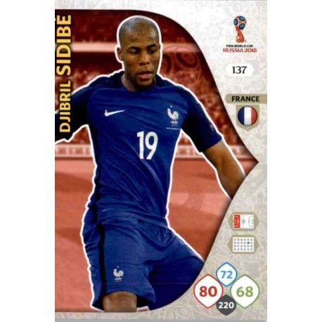 Djibril Sidibé Francia 137 Adrenalyn XL World Cup 2018