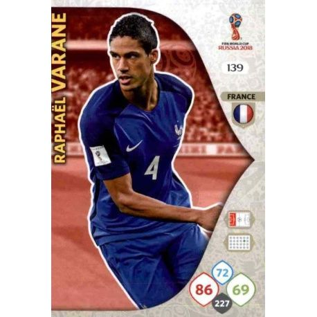 Raphaél Varane Francia 139
