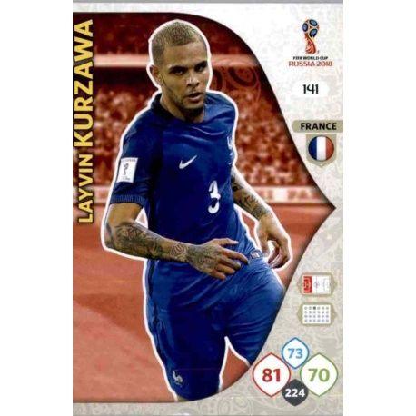 Layvin Kurzawa Francia 141 Adrenalyn XL World Cup 2018