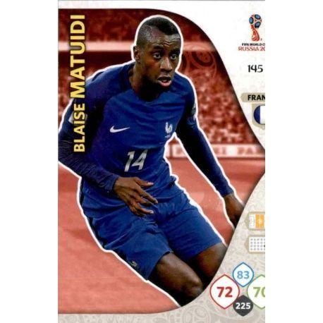 Blaise Matuidi Francia 145 Adrenalyn XL Russia 2018