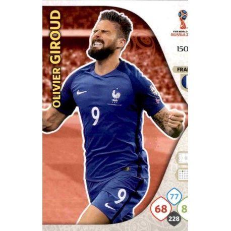 Olivier Giroud Francia 150 Adrenalyn XL World Cup 2018