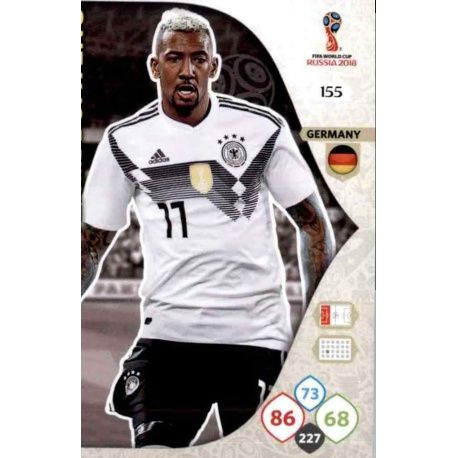 Jérôme Boateng Alemania 155 Adrenalyn XL Russia 2018