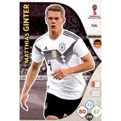 Matthias Ginter Alemania 156