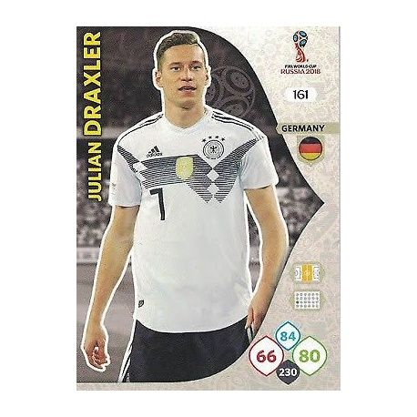 Julian Draxler Alemania 161 Adrenalyn XL World Cup 2018