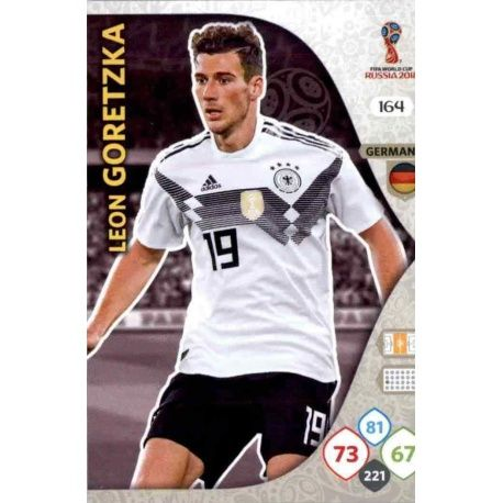 Leon Goretzka Alemania 164 Adrenalyn XL World Cup 2018