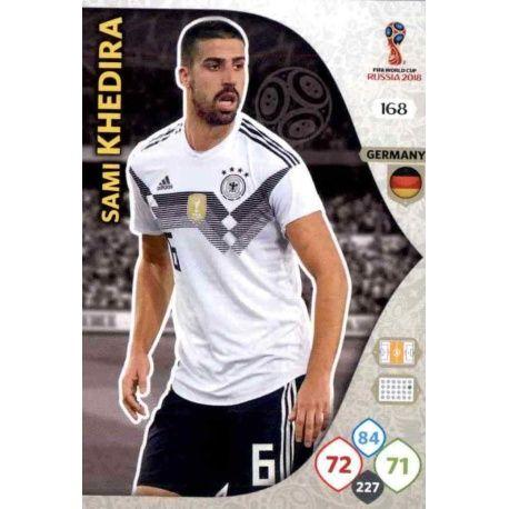 Sami Khedira Alemania 168 Adrenalyn XL Russia 2018
