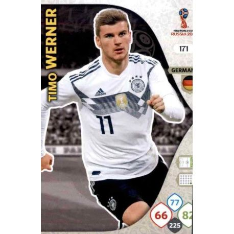 Timo Werner Alemania 171 Adrenalyn XL Russia 2018