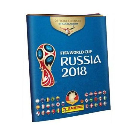 Collection Panini Fifa World Cup Russia 2018