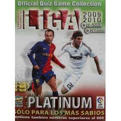 Colección Mundicromo Platinum Quiz Game Liga 2009 2010 Colecciones Completas
