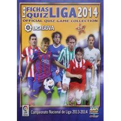 Colección Mundicromo Las Fichas Quiz Liga 2014