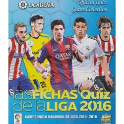 Collection Mundicromo Las Fichas Quiz de La Liga 2016 Complete Collections