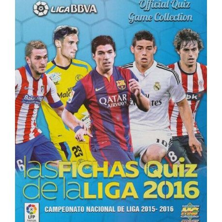 Colección Mundicromo Las Fichas Quiz de La Liga 2016