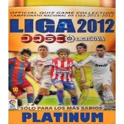 Colección Mundicromo Liga Official Quiz Game Collection 2012 Platinum Colecciones Completas