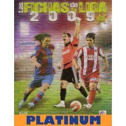 Colección Mundicromo Las Fichas de La Liga 2009 Platinum Colecciones Completas
